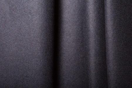 détail d'un caban coloris bleu horizon
