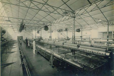 Atelier filature Jules Tournier en 1933