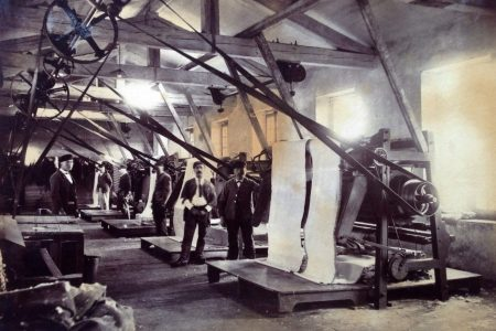 Atelier ennoblissement Jules Tournier, archive photographique